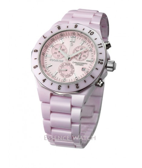 Essence Cosmospolitan Pink Ceramic Watch ES7030MP